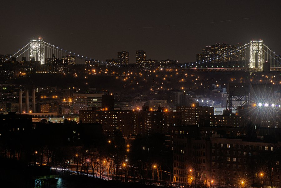 The North Bronx at Night