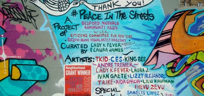 Thank You!  @ #PeaceInTheStreets Mural