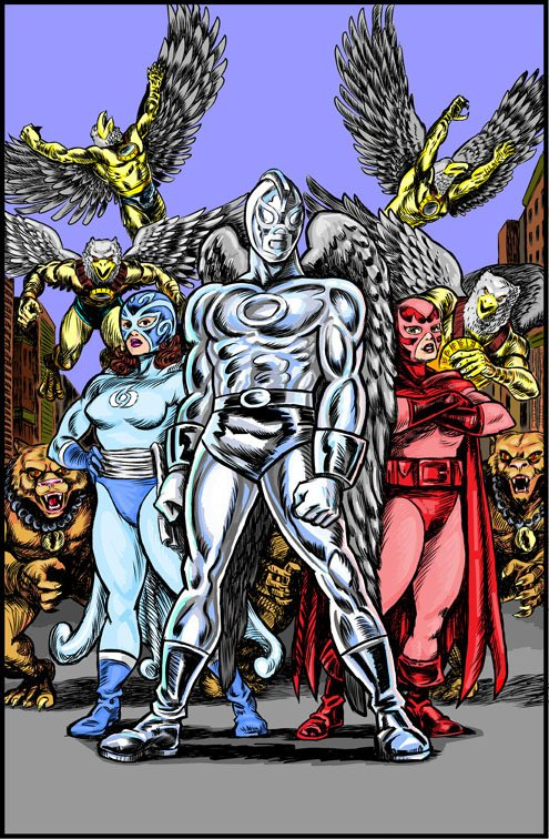 Mythography Comics Cover Issue 1