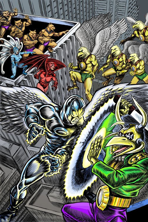 Mythography Comics Cover Issue 2