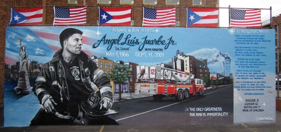 Memorial Wall for Angel Juarbe