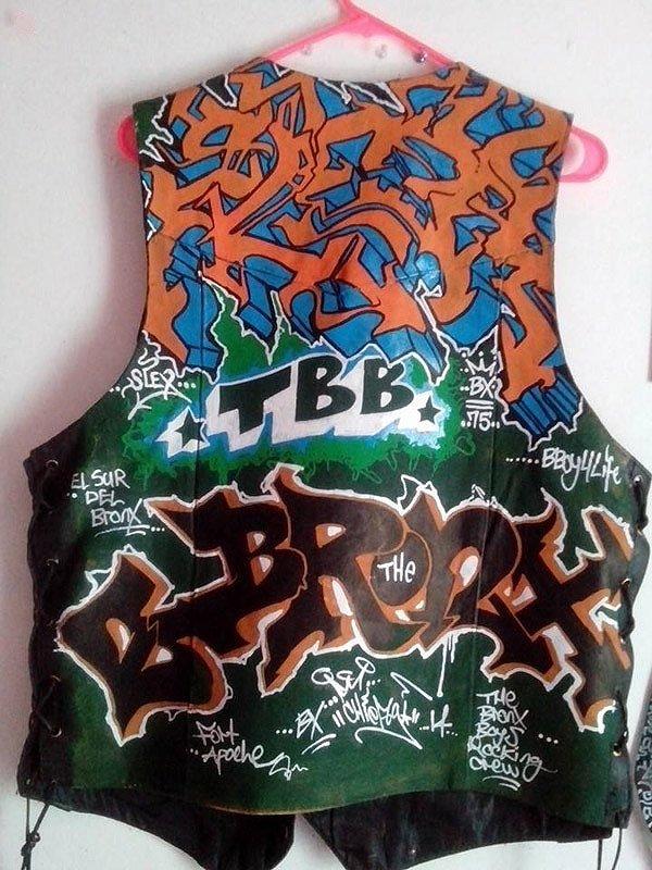 Bboy Slex Leather Vest