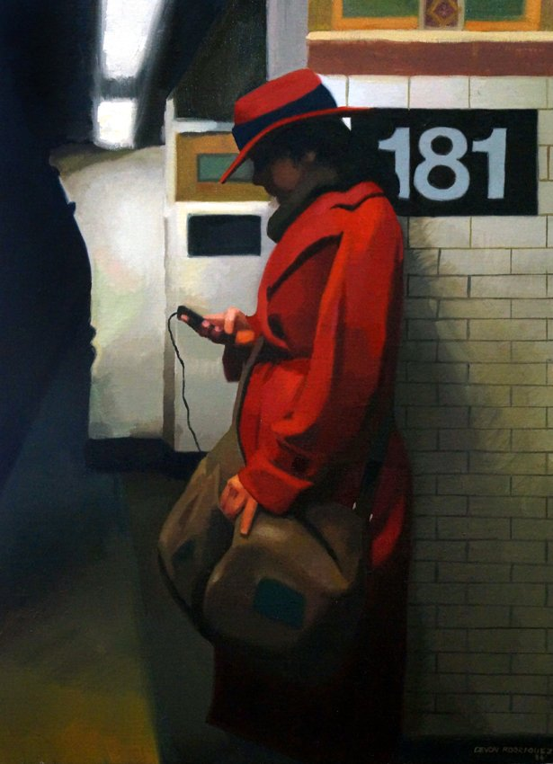 Girl in Red Jacket, Broadway