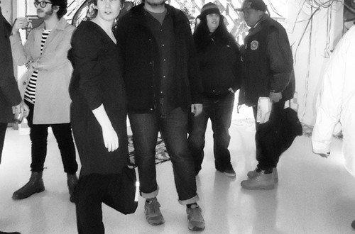 Dubbed curator Laura Napier with artist Edwin Gonzalez