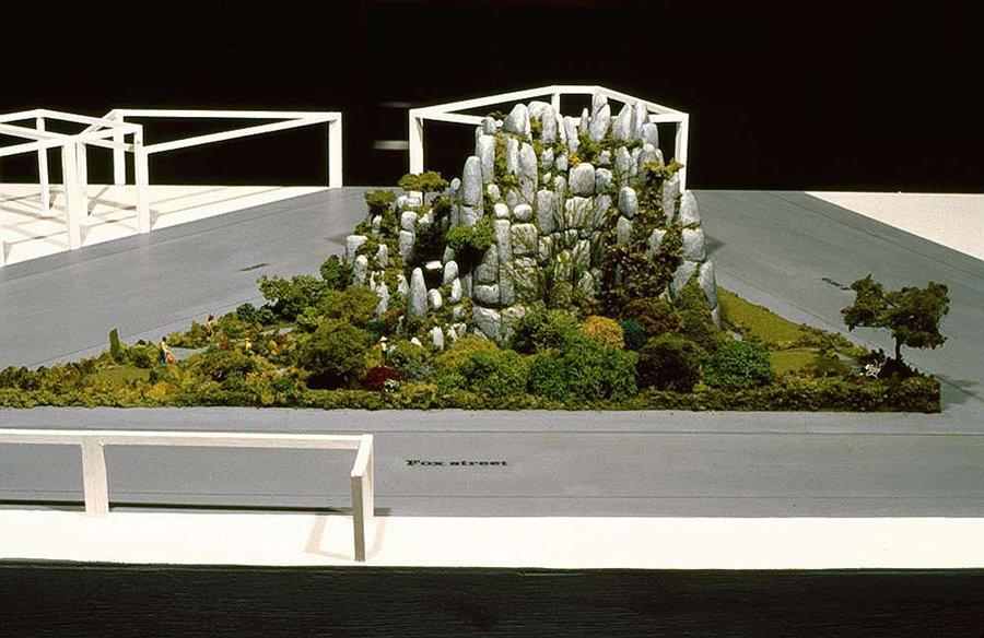 Model for Fox Street Garden