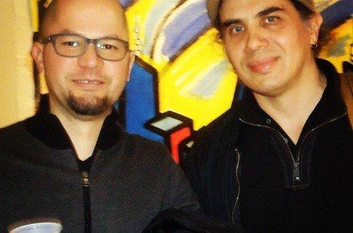 Artists Arnaldo Morales & Manuel Acevedo