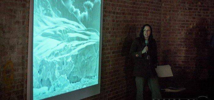 Lisa Lebofsky, BX200 Virtual Artist Studios @ No Longer Empty, Bronx Court House, Photos by Ignacio Soltero ©2015, deejaysoul@yahoo.com