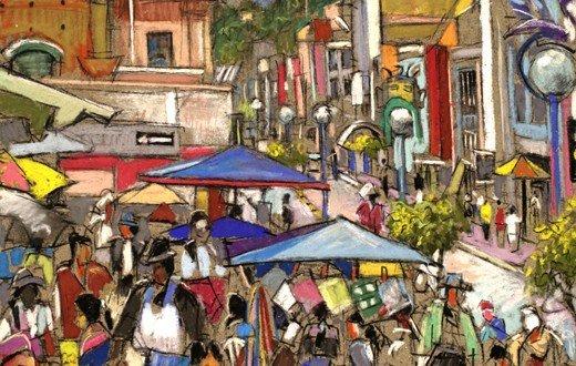 Otavalo Market ©Daniel Hauben