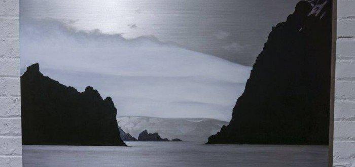 Lisa Lebofsky's Antarctic Islands and Glacier, photo by Ignacio Soltero