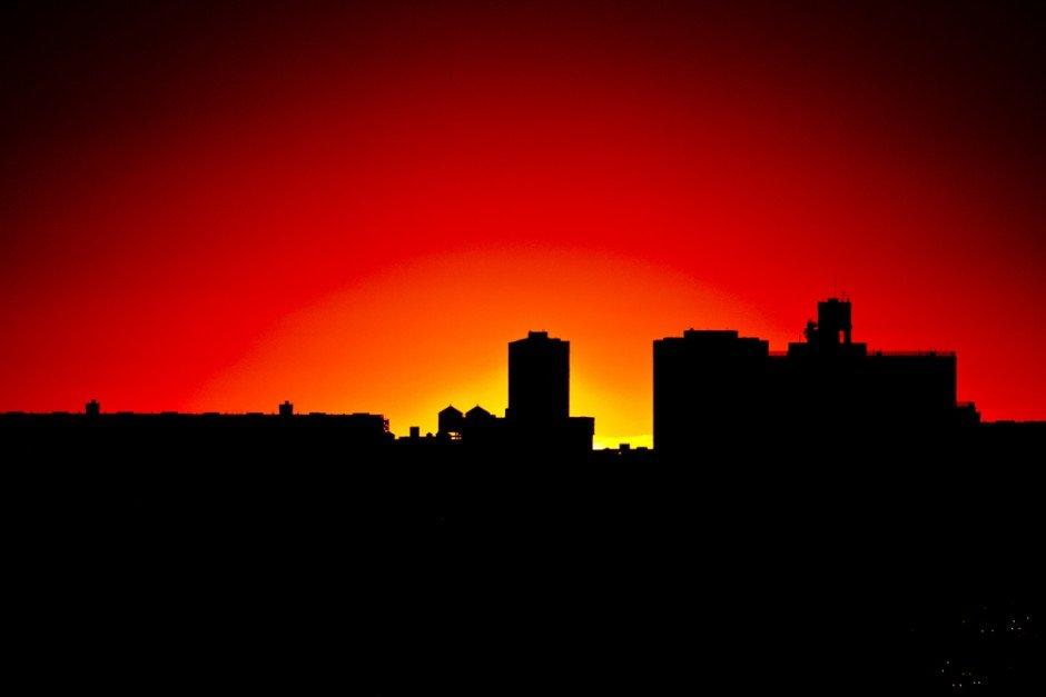 Sunset August