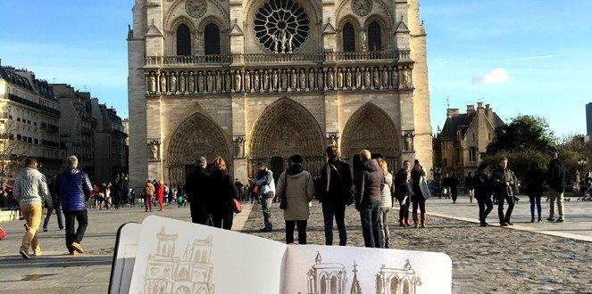 Notre Dame de Paris ©SASHALYNILLO 2015