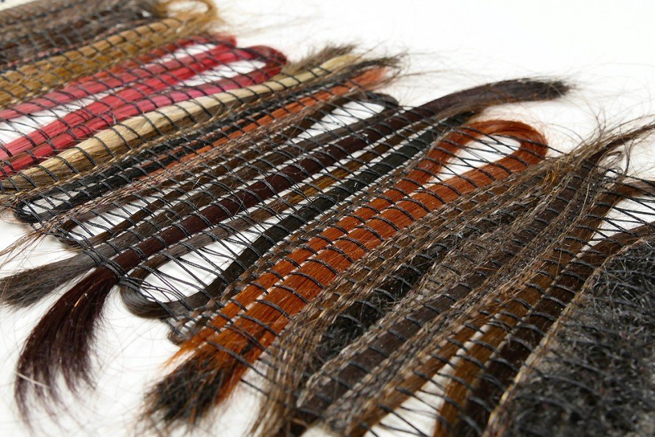 Hair Weaving #1 (Detail)