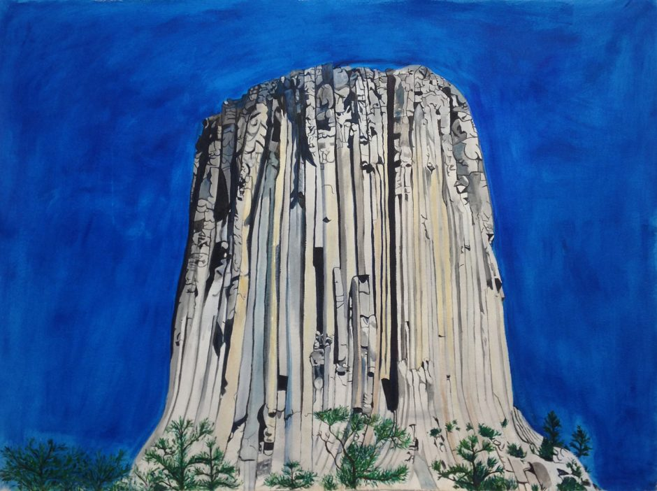 Devils Tower Holy Mountain series