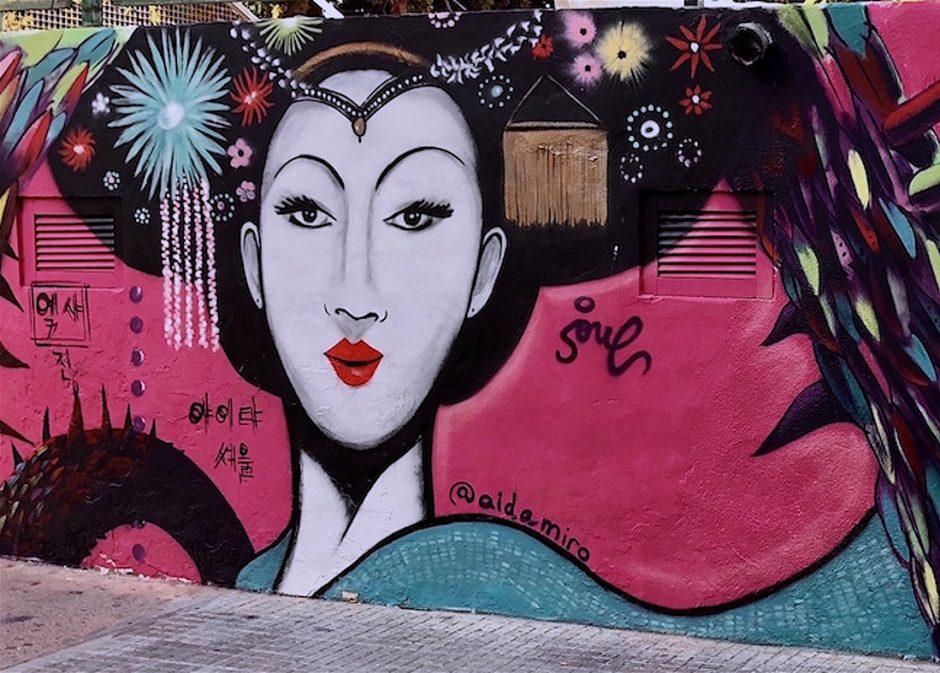 Mural Orientalismos Ibiza